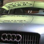 Gelochte Bleche: Audi setzt auf Lochblech-Fassaden
