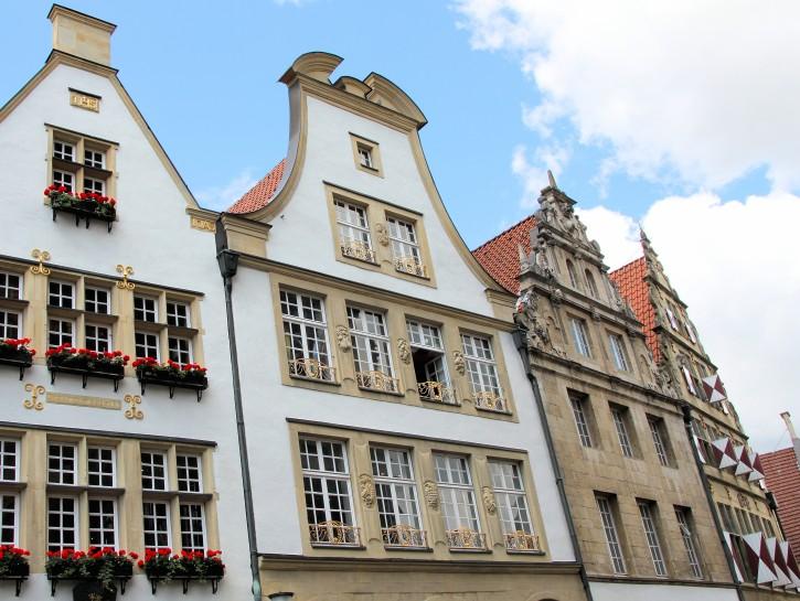3. Geschichtsträchtige Bürgerhäuser am Prinzipalmarkt