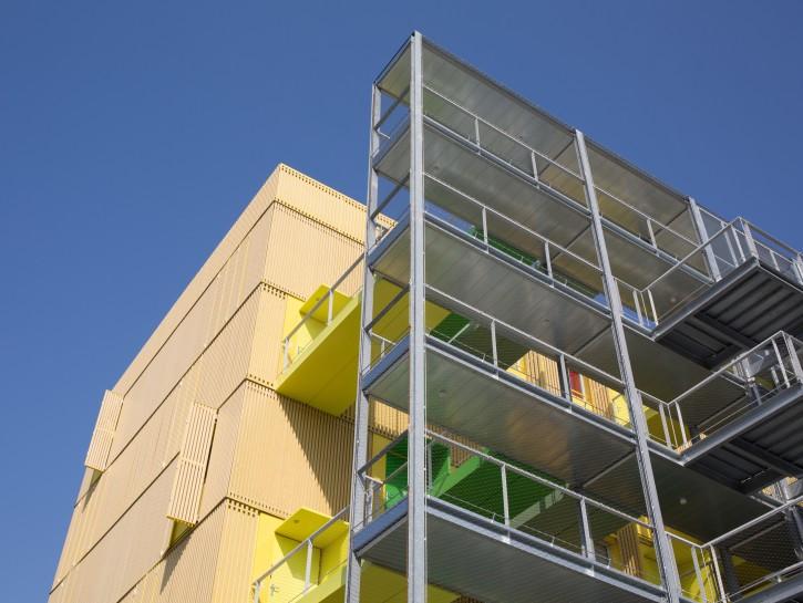 1. Der Stahlbalkon im Containerkonzept