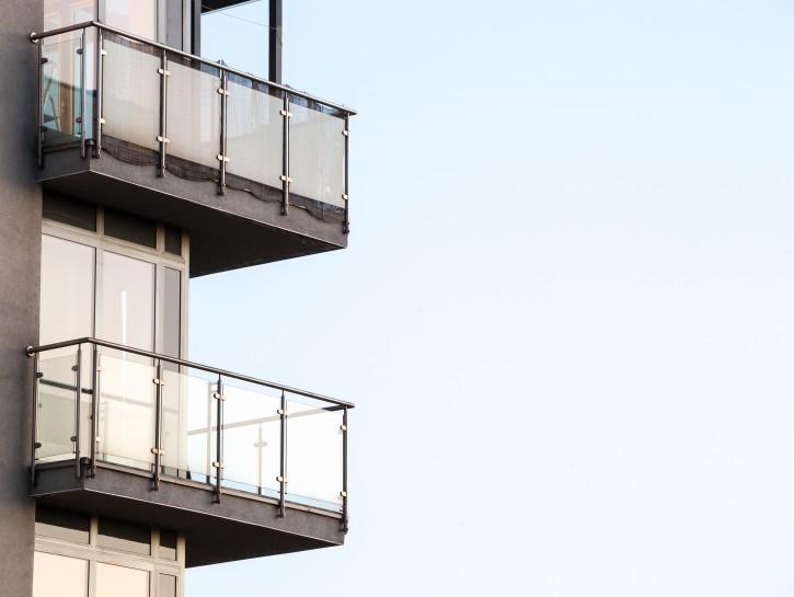 5. Der nachträglich angebrachte Stahlbalkon