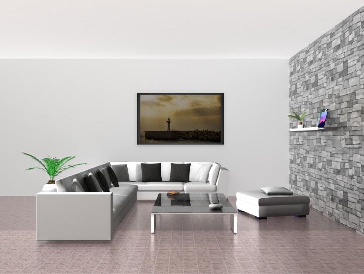 9. Einrichtungstipp: Moderne Einrichtung mit Flachbild-Fernseher als Glanzlicht