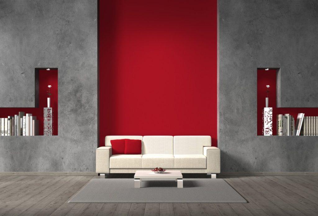 4. Idee: Farbkontraste für Anfänger der Wandgestaltung