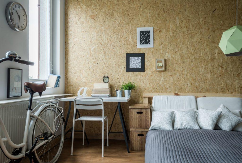 6. Idee: OSB-Platten als Wandelemente im Schlafzimmer?