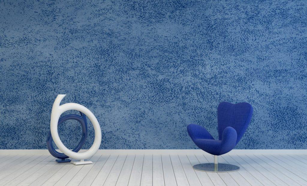 8. Idee für Wand-Farben: Blau in verschiedenen Schattierungen