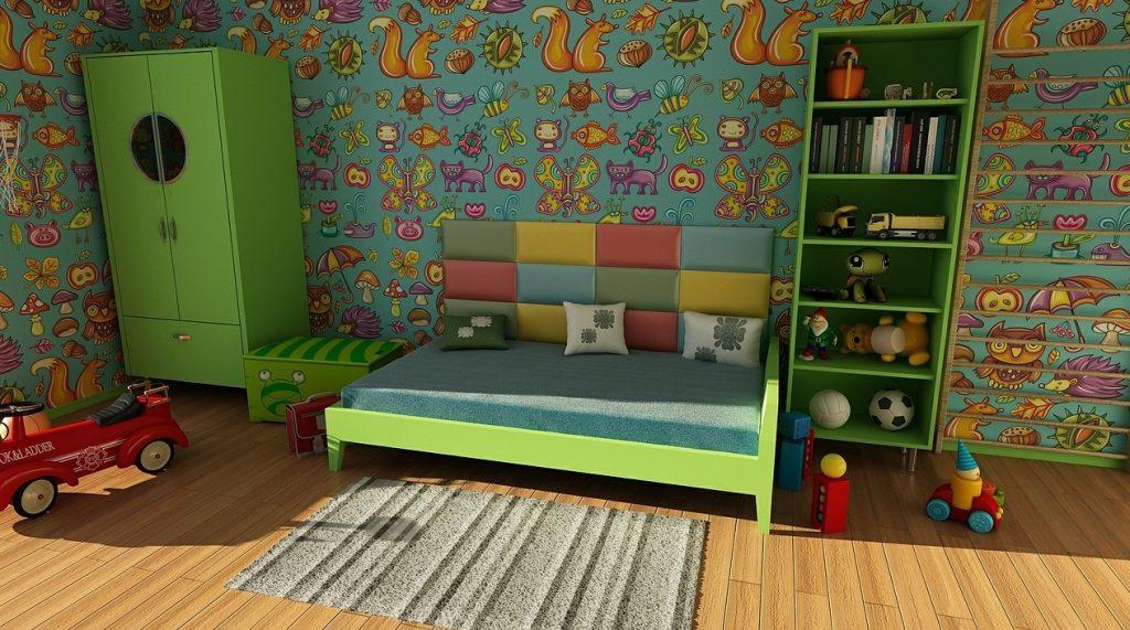 8.x Farbe und Wandgestaltung: Bunt, bunt, bunt – ist mein ganzes Kinderzimmer