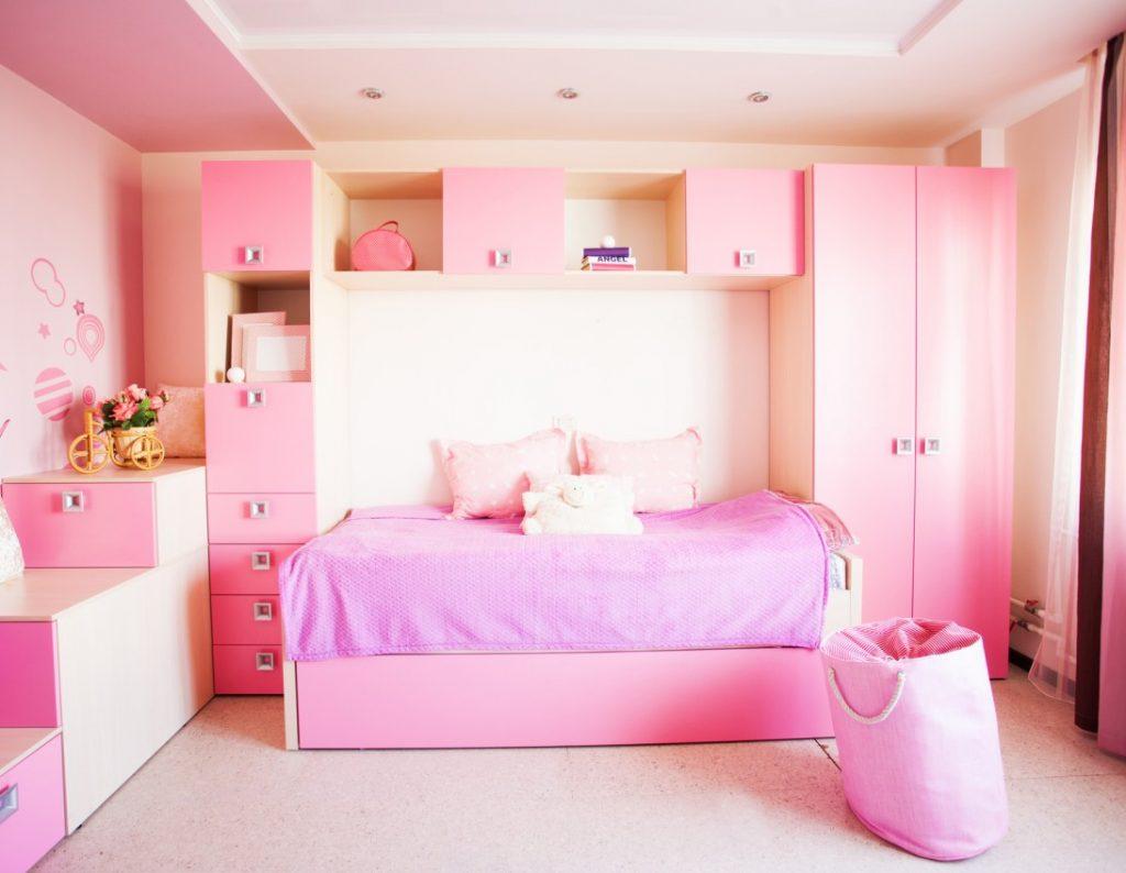 9. Kinderzimmer-Idee: Rosa regiert die Welt!