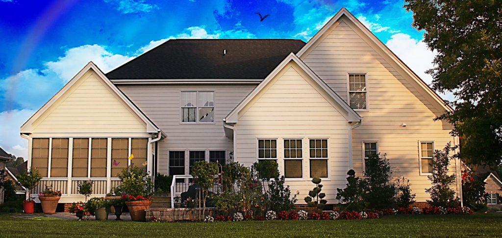10. Einfamilienhaus im skandinavischen Stil