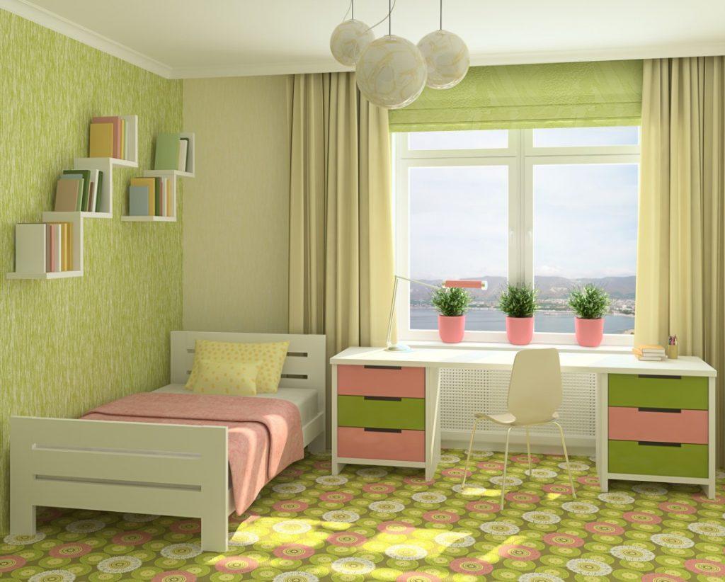10. Wohnidee: Wandgestaltung mit Formenvielfalt im Kinderzimmer