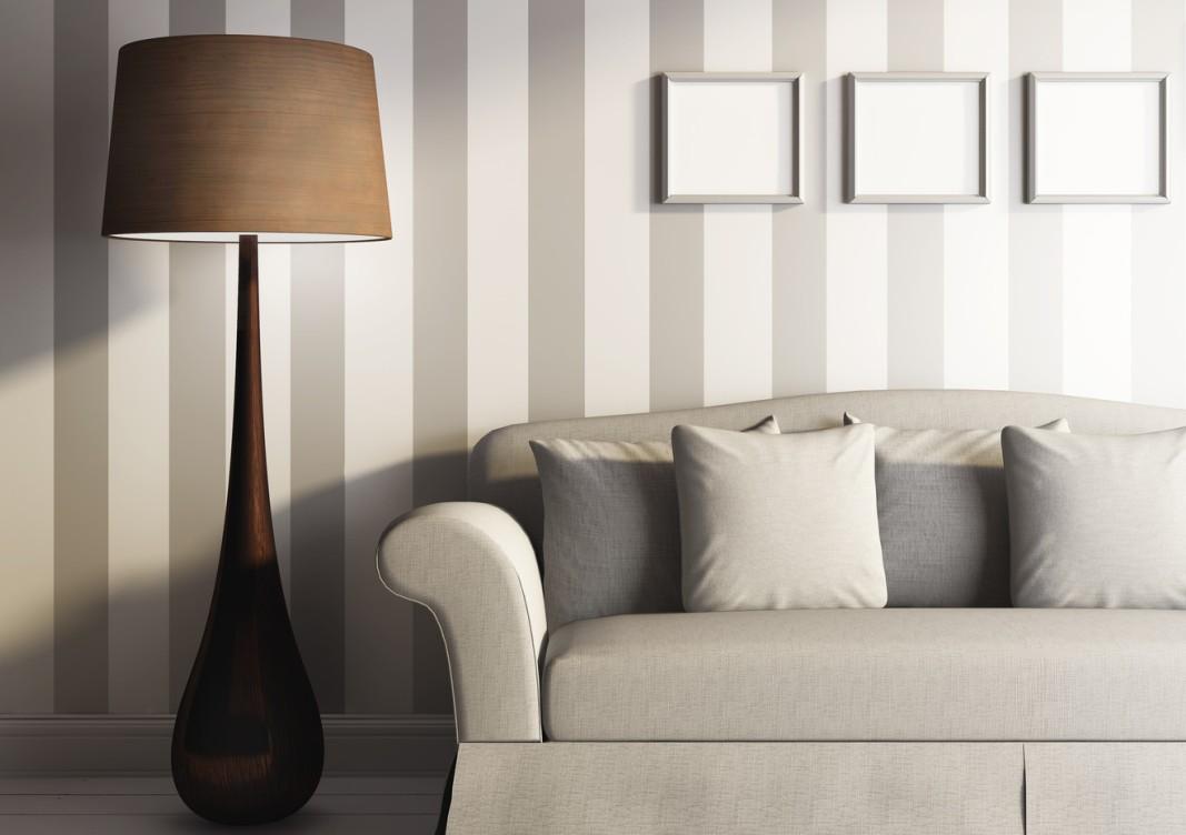 Wand streichen: Ideen für Muster, Farben & Streifen