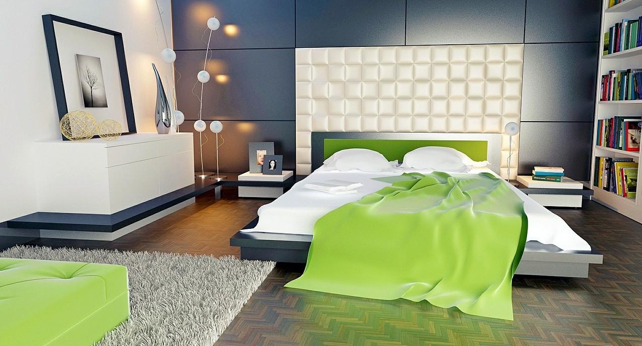 kleines schlafzimmer: 20 ideen rund ums einrichten, farbe & mehr, Schlafzimmer ideen