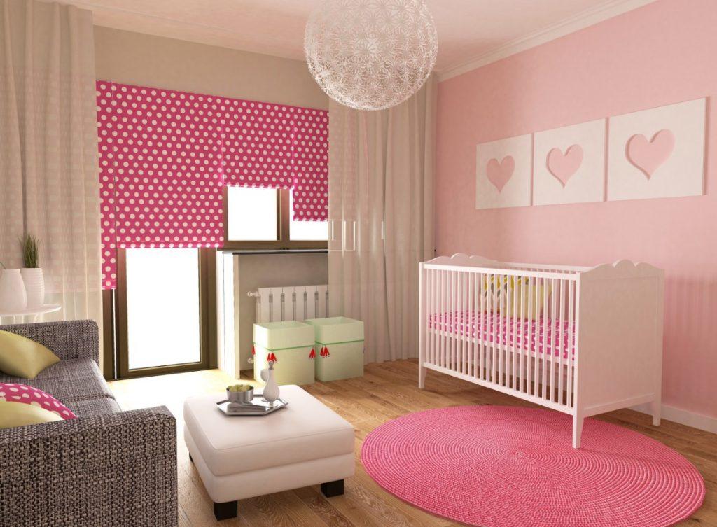 10. Rosa Mädchentraum als Babyzimmer