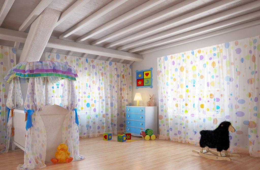 19. Babyzimmer gestalten im Landhausstil