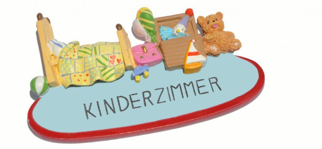 21. Türschild für das Kinderzimmer