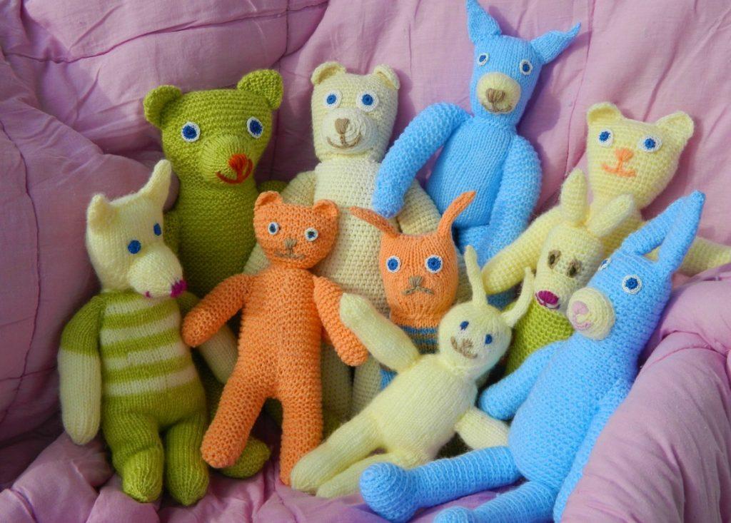 38. Puppen für Häkelfans
