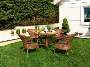 Rattan- und Teakholz-Möbel im Garten und auf der Terrasse sind ein wahrhafter Trendartikel geworden. Haben Sie etwa noch keine? (#4)