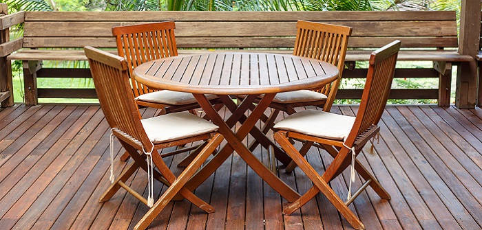 Teakmöbel für Terrasse und Garten
