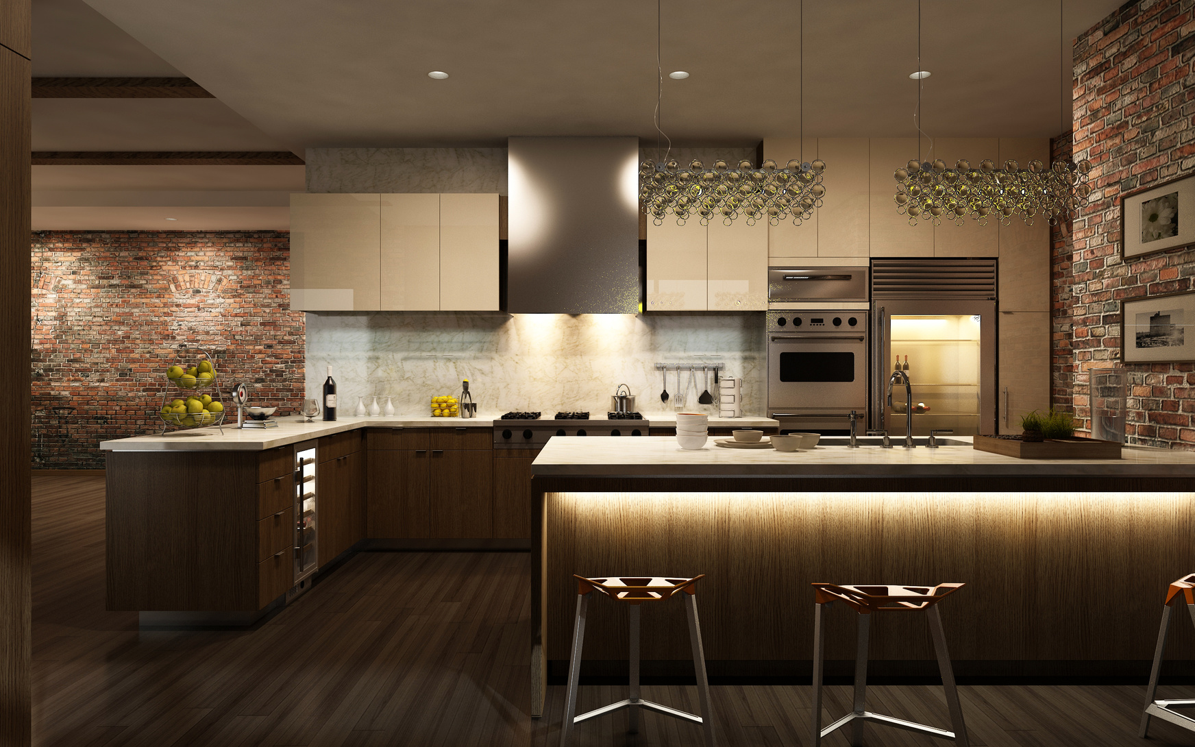 Küchengestaltung wand  Küchengestaltung: 10 kreative Ideen zum Gestalten einer Küche
