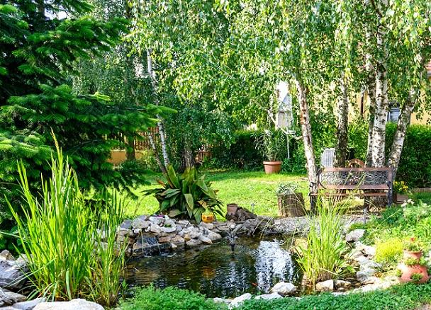 relaxen, eine Ruhezone im Garten haben ist prima um die Seele baumeln zu lassen