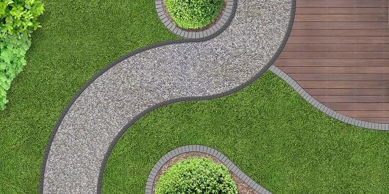 Akurat, gepflegt auch diese Gartengestaltung hat ihre Anhänger, ihre Liebhaber