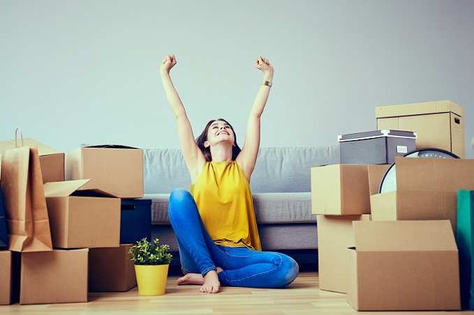 Als angemessene Wohnfläche für einen Single gilt eine Wohnungsgröße von 45 Quadratmetern. (#04)