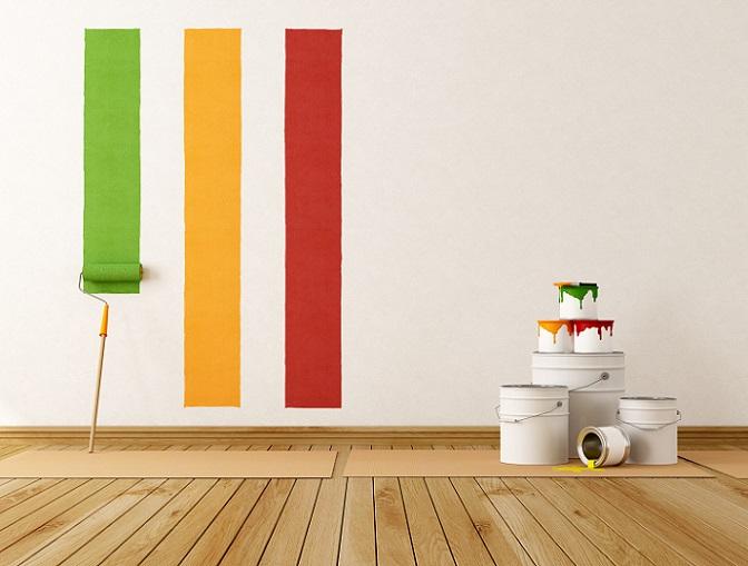 Es gilt: fühlt man auf den Platten, die angeblich ordentlich und sauber geschliffen sind, Unebenheiten, sind sie auf keinen Fall fürs Streichen geeignet. Denn diese unebenen Stellen würde man später – ob an der Decke, in der Wand oder im Boden – deutlich erkennen. Bei einer Lackierung sogar noch deutlicher. (#02)