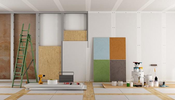Allen voran in jüngeren Häusern, die in den letzten 20 Jahren gebaut wurden, sind Rigipsplatten sehr häufig verbaut – an den unterschiedlichsten Stellen. Dadurch wird bereits ein großer Vorteil von Gipskarton deutlich: seine Vielseitigkeit. (#01)
