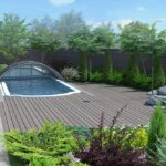 Sichtschutzzäune für den Garten: die Privatsphäre sichern