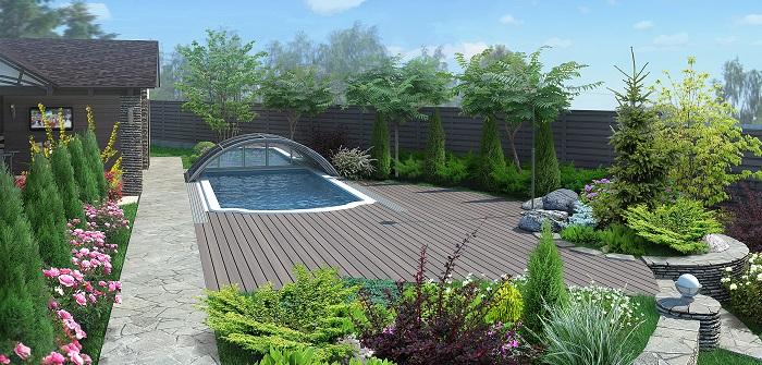 Sichtschutzzäune für Garten und mehr