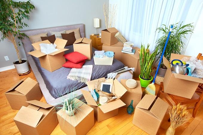 Es schadet nichts, im Schlafzimmer mit dem Ausmisten der Wohnung zu starten. (#04)