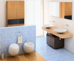Wenn ihr Badezimmer zur Oase werden soll, empfehlen wir Ihnen die Verwendung von Mosaik-Fliesen. (#1)