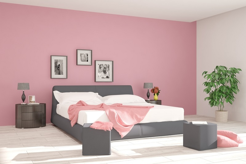wandgestaltung im schlafzimmer zehn kreative ideen. Black Bedroom Furniture Sets. Home Design Ideas