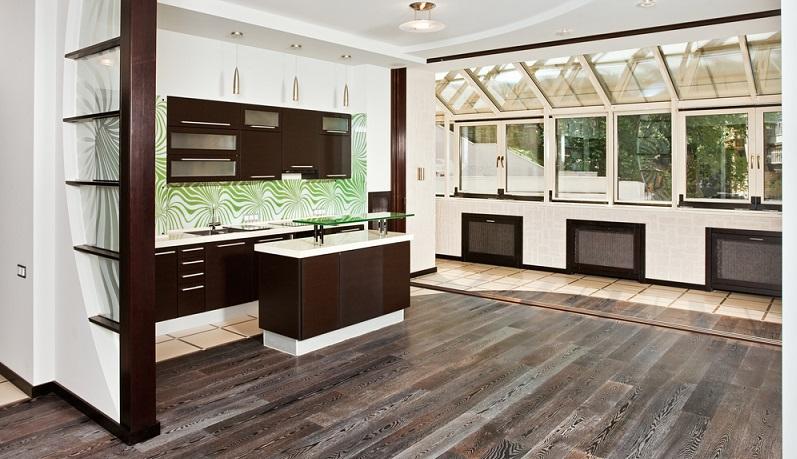 Die modernen Fußböden verzichten auf Weichmacher und PVC und bringen dennoch echte Strukturen und außergewöhnliches Dekor auf den Fußboden. (#01)