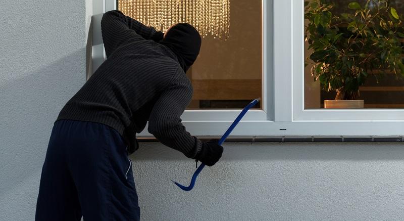 Fenster und Fenstertüren sind die Hauptziele von Einbrechern. Setzen sie mehr Widerstand als üblich entgegen, geben die Diebe schnell auf. (#02)