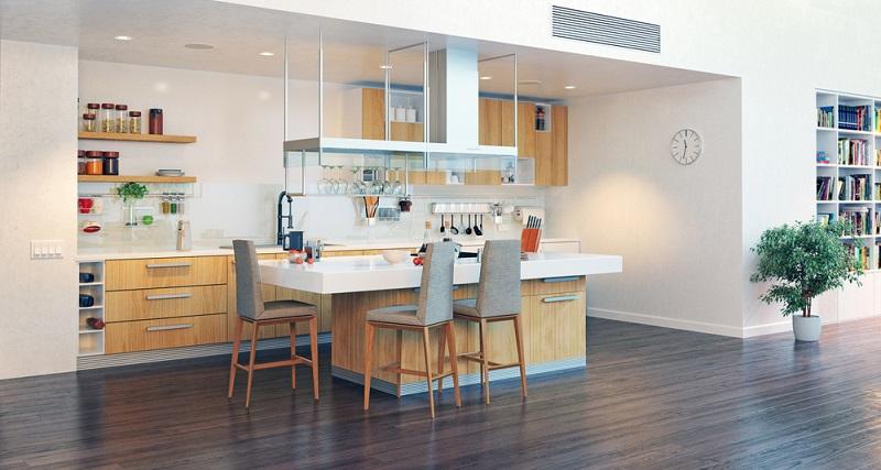 Möbel aus Massivholz haben eine besondere Optik und sind unverwechselbar. Auch wenn sie einen Farbanstrich haben, kommt die Naturmaserung durch. (#03)