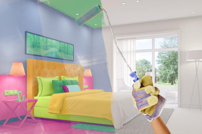 Benutzt man zu viel Farbe beim Gestalten des Wohnraums - ähnlich wie die POP Art Künstler - wird es schnell zu unruhig und überladen. (#4)