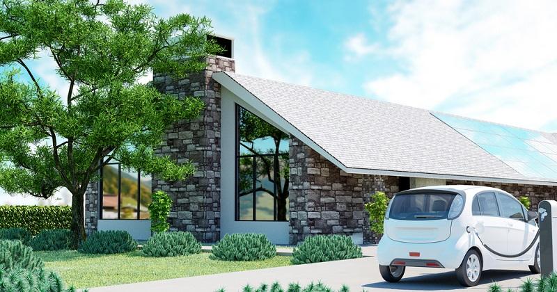 Ökologische Aspekte werden immer stärker bei der Planung von neuem Wohnraum berücksichtigt. (#02)
