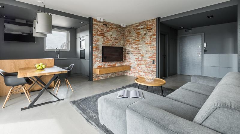 Der Industrial Style erlebt gerade einen Boom und setzt genau auf die Dinge, die für ein eigentlich nicht bezugsfertiges Haus stehen. Das Industrial-Zuhause wirkt aber cool und dennoch gemütlich und romantisch. (#01)