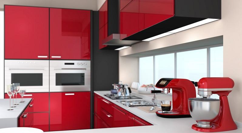 Besonders stimmig wird das Bild, wenn auch die Kleingeräte wie Kaffeemaschine und Toaster dem Retro-Design entsprechen. (#03)