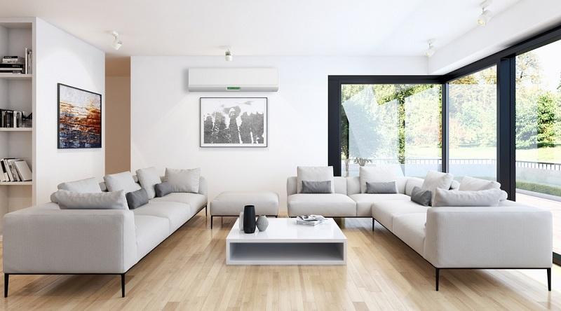 Ein Haus wird dabei in unterschiedliche Zonen geteilt, die mit einem eigenen Thermostat versehen sind und unterschiedlich gekühlt werden. (#01)