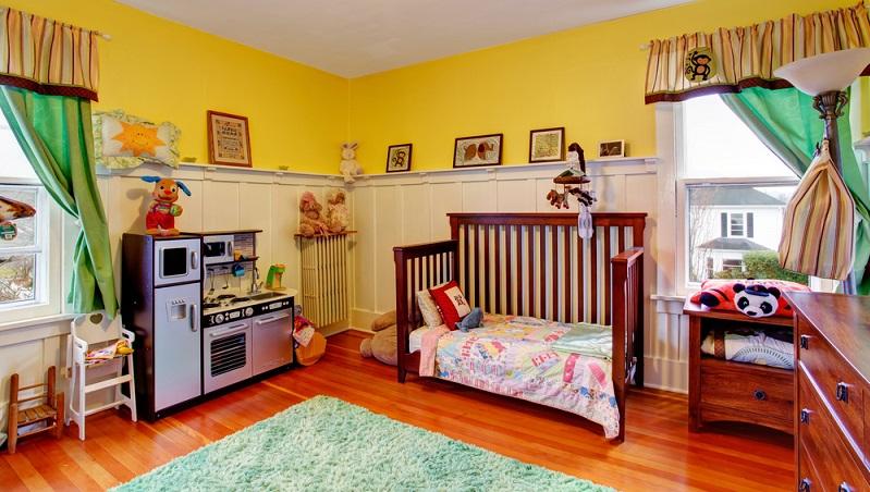 Es geht nicht darum, dass das Kinderzimmer so groß wie möglich sein muss und dass das Platzangebot alles andere im Haus übersteigt. (#03)