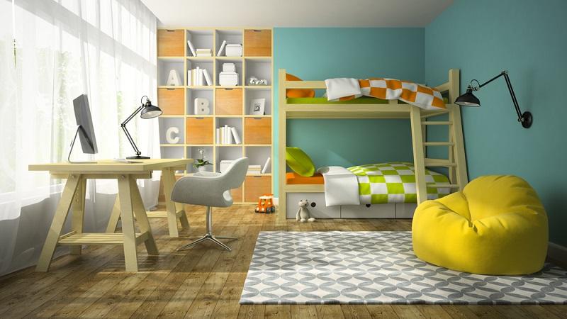 Welcher Fußbodenbelag ins Kinderzimmer gehört, bleibt ganz den Eltern überlassen. (#03)