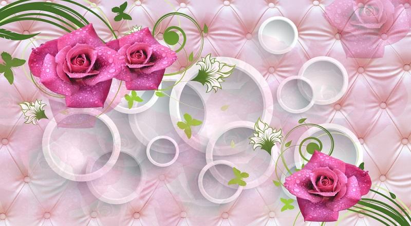 Traditionell aber keinesfalls angestaubt sind schöne Tapeten in floralen Designs. Die Mustertapete mit Blumen oder Ranken ist seit Jahrzehnten in unterschiedlichen Varianten sehr beliebt. (#03)