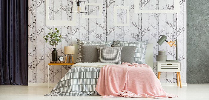 Schöne Tapeten: Neuer Glanz für die Wand