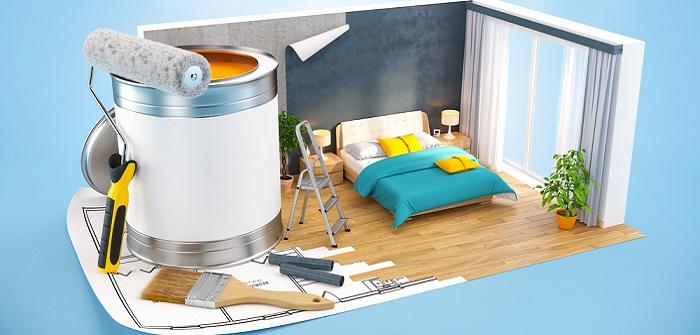 vliestapete streichen das gilt es zu beachten. Black Bedroom Furniture Sets. Home Design Ideas