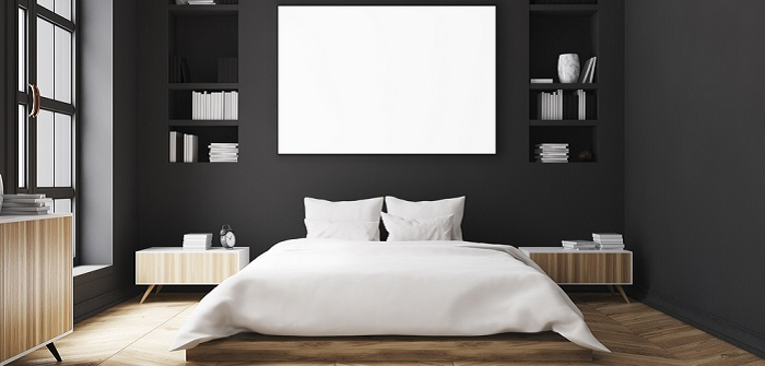 Schwarze Tapete für die Wohnung: So wird eure Wohnung etwas besonders