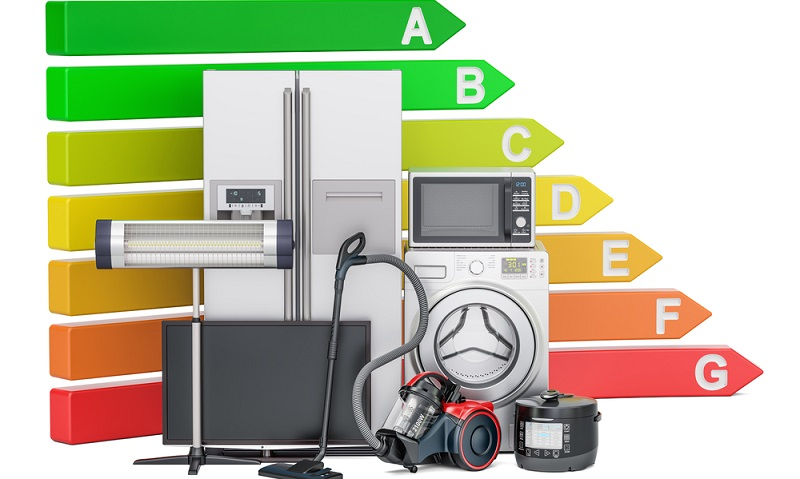 Schauen Sie sich auf der Suche nach dem größten Stromfresser nicht nur die Label an, sondern auch das Volumen der Geräte. (#02)