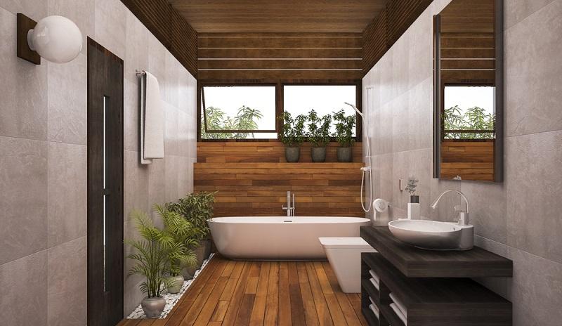 Ein schöner Anblick: Das von Schimmel gesäuberte Bad, in dem man sich so richtig wohlfühlt. (#2)