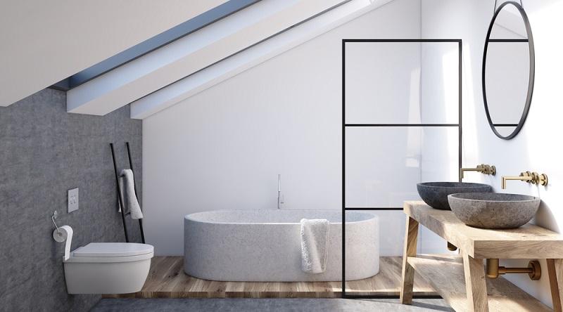 Neben dem Renovierungsstau bemängeln die Deutschen in Sachen Badezimmer die zu geringe Größe am häufigsten. (#03)