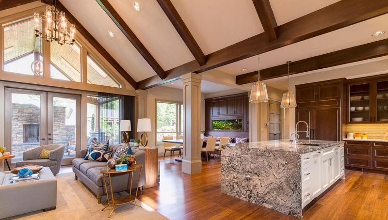 Es gibt in Ihrem Zuhause Mauervorsprünge, halbe Wände oder Stützpfeiler unter dem Dach?