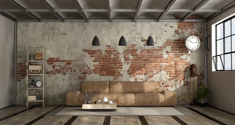 Das minimalistische Wohnzimmer besticht durch die klaren Linien und Farben, durch die Reduzierung auf das Wesentliche.